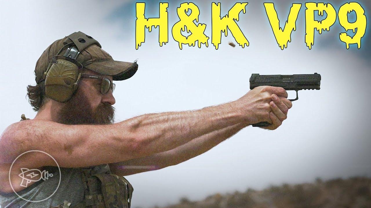 The Best Striker-Fired Pistol We've Fired Yet? 🤨 H&K VP9! [Review]