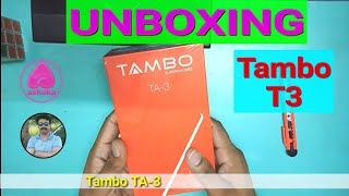 Tambo Mobile TA 3 Smartphone launched in India 2018 Unboxing/review in Hindi