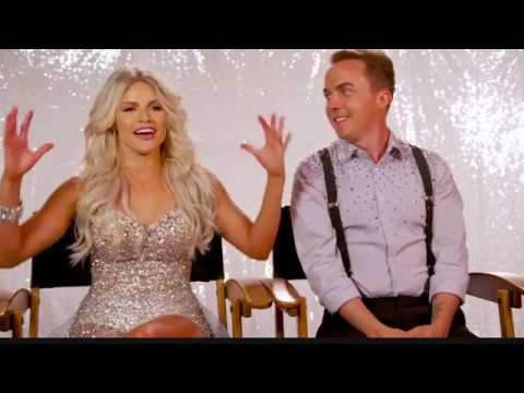 Frankie Muniz and Witney Carson Interview