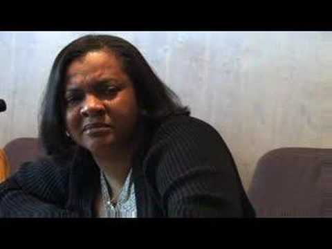 Monica Conyers Debates with an 8th Graders