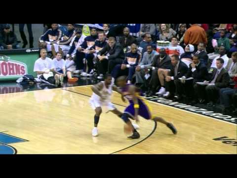 12 05 2008   Lakers vs  Wizards   Pau Reverse Dunk