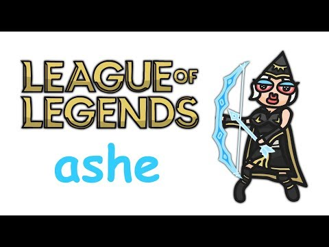 ASHE ANIMATED CHAMPION SPOTLIGHT - League of Legends
