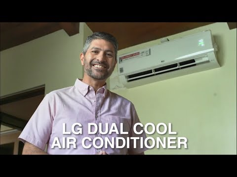 James Deakin Vlog - LG Dual Cool With Dual Inverter Air Conditioner