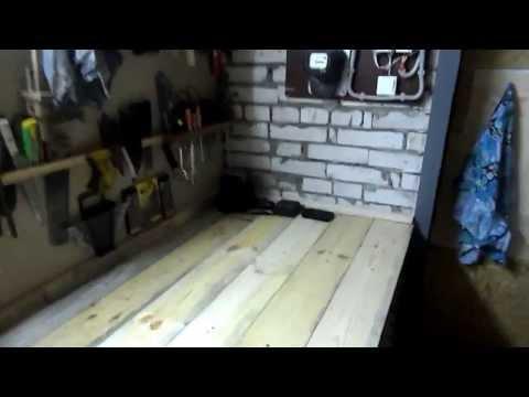видео: Рабочая зона в гараже