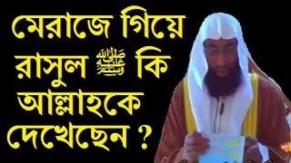 মেরাজে গিয়ে রাসুল ﷺ কি আল্লাহকে দেখেছেন ?শাইখ মোস্তফা আমিন খান