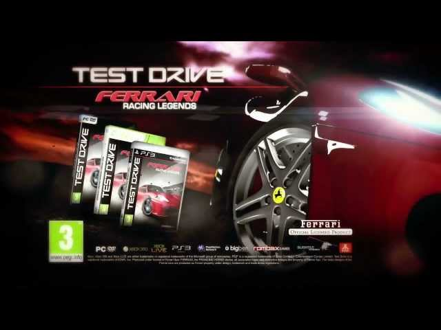 Test Drive Ferrari Racing Legends Official Trailer