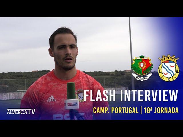 Pêro Pinheiro 0-1 FC Alverca - Flash Interview