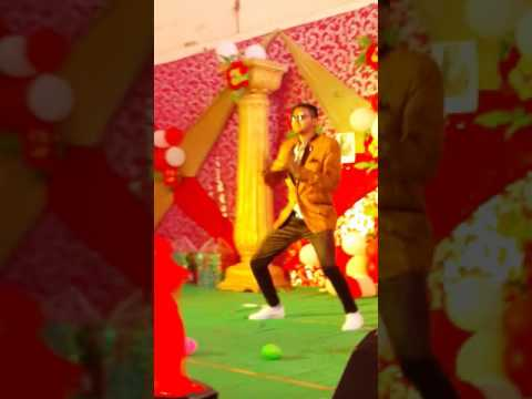Nadeem Ahmed Dance performance in Anjuman collage Makrana