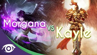 Repeat youtube video 1v1 Mid: Morgana vs Kayle [Champion Rap Battles]