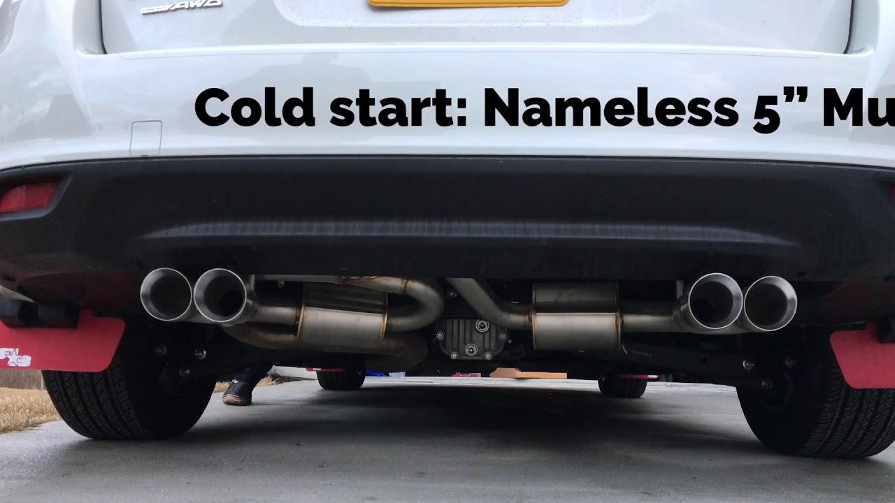 2017 impreza hatchback quad exit axleback exhaust sound 2019 subaru impreza cvt 2 0 hatchback