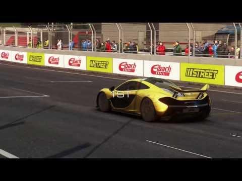 Yarışıyoruz, A1 Ring, McLaren P1, GRID Autosport