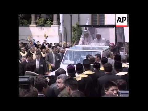 ROMANIA: POPE JOHN PAUL II VISIT