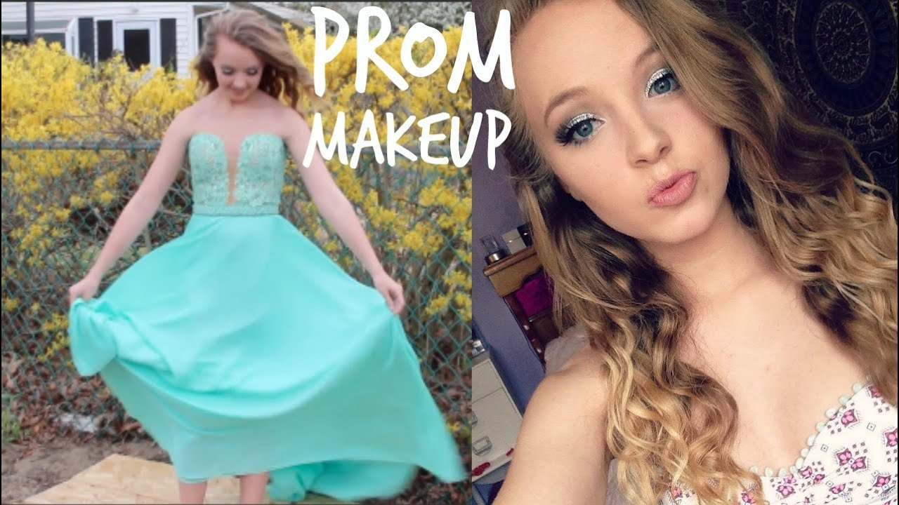 PERFECT PROM MAKEUP 2016 - YouTube