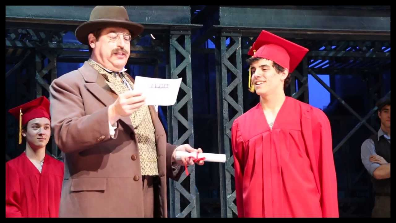 Watch as Newsies Actors Seize the Day and Celebrate Their High School Graduation