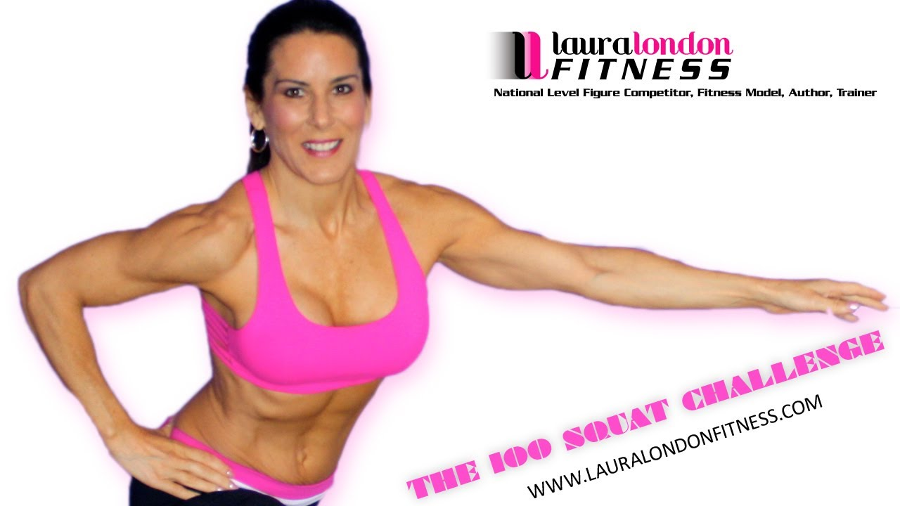 The 100 Squat Challenge With Laura London