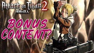 Attack on Titan 2 | Bonus Content & Untold Stories!