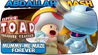 Captain Toad: Treasure Tracker [Nintendo Switch] - Mummy-Me Maze Forever! 🔴LIVE!