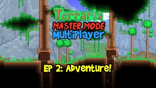 Terraria 1.4 Journey's End Playthrough, Master Mode Let's Play Ep 2 Multiplayer Gameplay (2020 Coop)