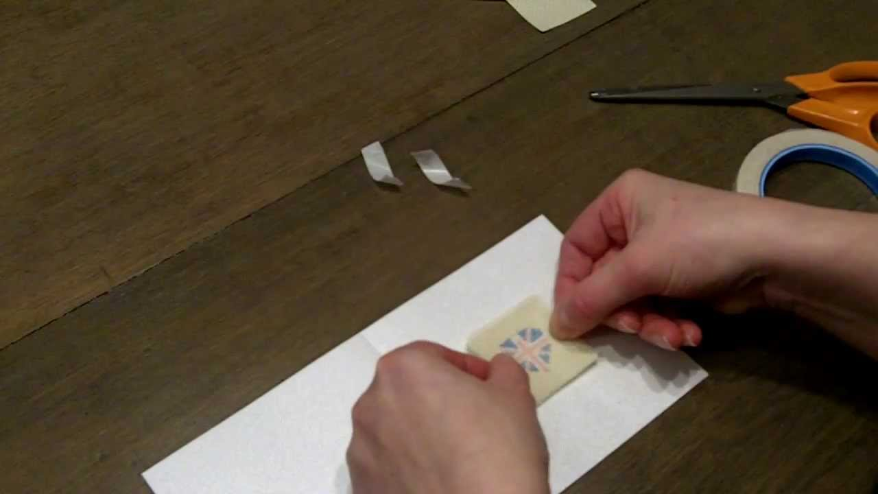 How to make a cross stitch card video youtube m4hsunfo Images