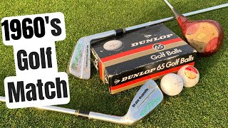 Epic Golf Match Using 1960's Blades and Dunlop 65 Golf Ball!