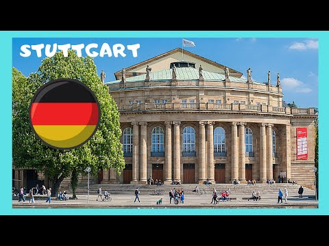 A walking tour of beautiful Stuttgart, Germany