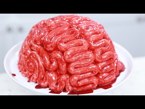Thumbnail: HOW TO MAKE A BRAIN CAKE - NERDY NUMMIES