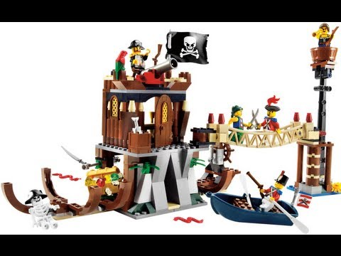 How To Build Lego Lego Pirates 6253 Shipwreck Hideout Instructions