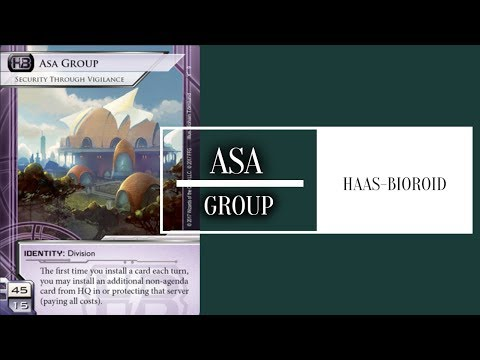 [Android: Netrunner] Asa Group: Security Through Vigilance // Bad Publicity