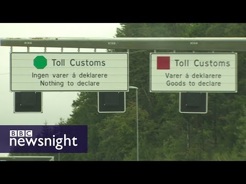 Is this a future model for the Irish border?  - BBC Newsnigh