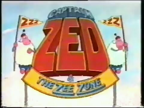 Captain Zed and the Zee Zone - Curtain Call