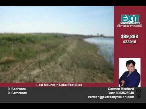 Last Mountain Lake waterfront lot for sale! Lot 22 Sunset Acres Resort