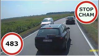 Stop Cham #483 - Niebezpieczne i chamskie sytuacje na drogach