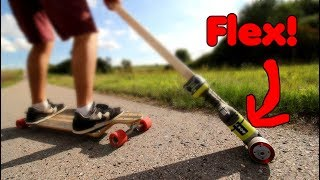 Longboard-Antrieb aus FLEX bauen
