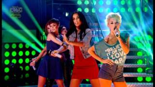 The Saturdays - All Fired Up (Live @ Big Friday Wind Up 18/11/2011)