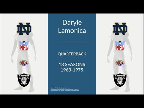 Daryle Lamonica: Football Quarterback