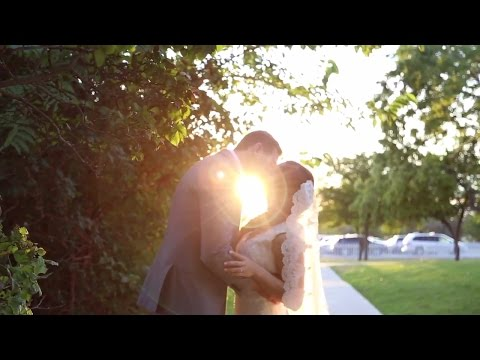Our Wedding Day (LDS Draper Utah Temple)