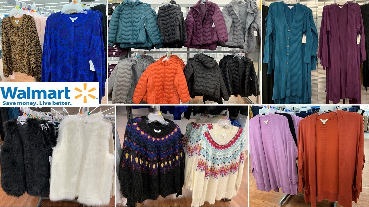 [VIDEO] - Walmart Clothing * Plus Size Fall & Winter Outfits ~ Shop With Me 2019 2