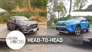 Auto Focus | Head to Head:  Toyota RAV4 2.5 LTD Vs Hyundai Tucson 2.0 D GLS
