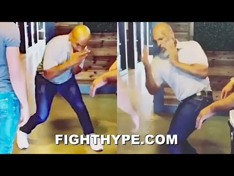Mike Tyson drops amazing training clip showing off explosive power ...