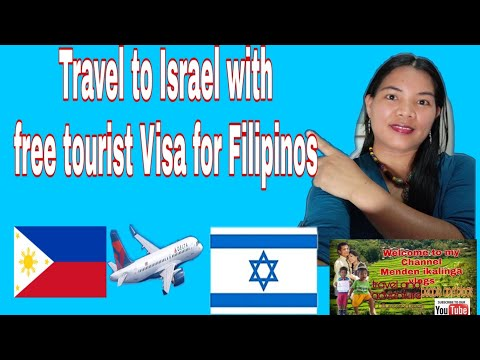 How To Travel In Israel From The Philippines With A Tourist Visa?#travelvlog#traveltoisrael