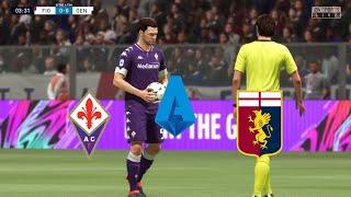 FIFA21 Fiorentina VS Genoa Italy Serie A Round 10