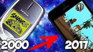 Эволюция мобильных игр