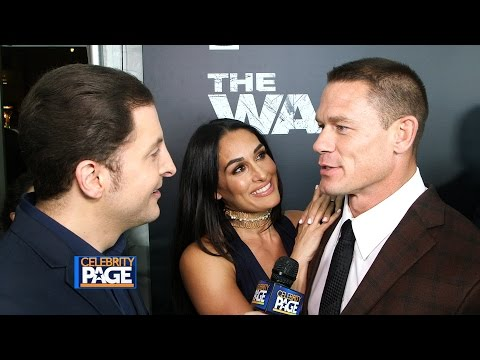 The Wall Premiere with John Cena and Aaron Taylor-Johnson