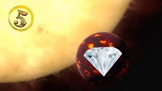Złota Piątka: Spektakularne planety