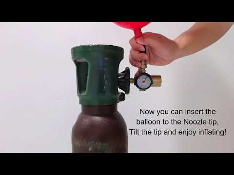 Learn How To Use Helium Tank To Inflate Balloon