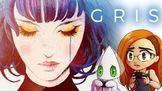 GRIS - Moving Through Hard Times & Feels ~Full Playthrough~ (Story Driven Indie Game)