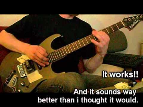 diy guitar pickup rocknrollthor 39 s low gain singlecoil youtube. Black Bedroom Furniture Sets. Home Design Ideas