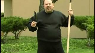 Cold Steel Bushman Survival Knife - Demonstration & Review
