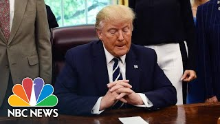 Donald Trump: Iran 'Will Pay A Price' If They Act Against U.S. In Strait Of Hormuz | NBC News