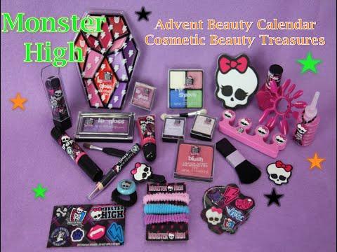 Monster High: Advent Beauty Calendar Cosmetic Beauty Treasures